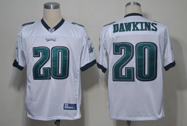 Eagles #20 Brian Dawkins White Stitched NFL Jersey | Cheap NFL ...